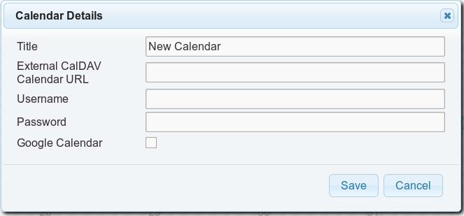 Apache OpenMeetings Project – CalDAV and Google Calendar