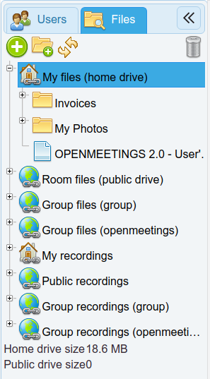 home files apache openmeetings project home